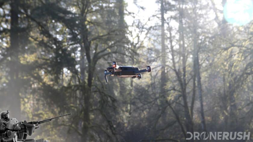 Don't shoot drones DJI Mavic Pro