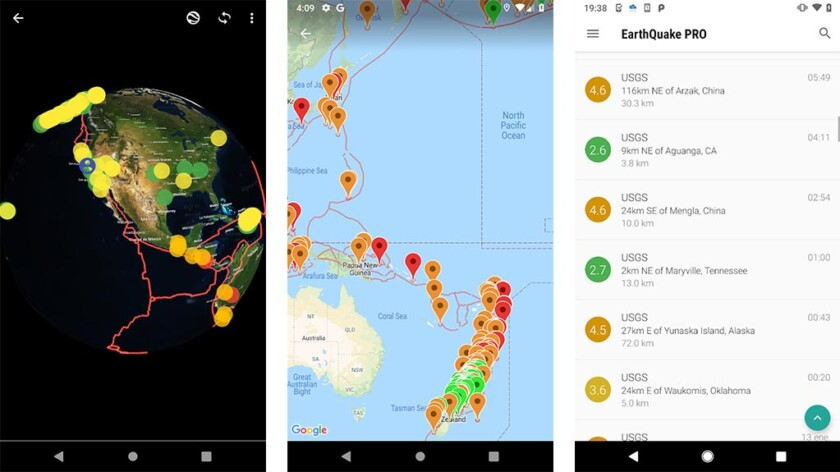 EarthQuake Alerts and Monitoring