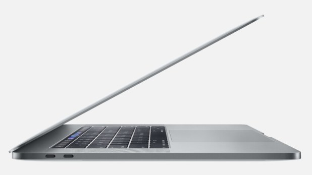 An Apple Macbook Pro.