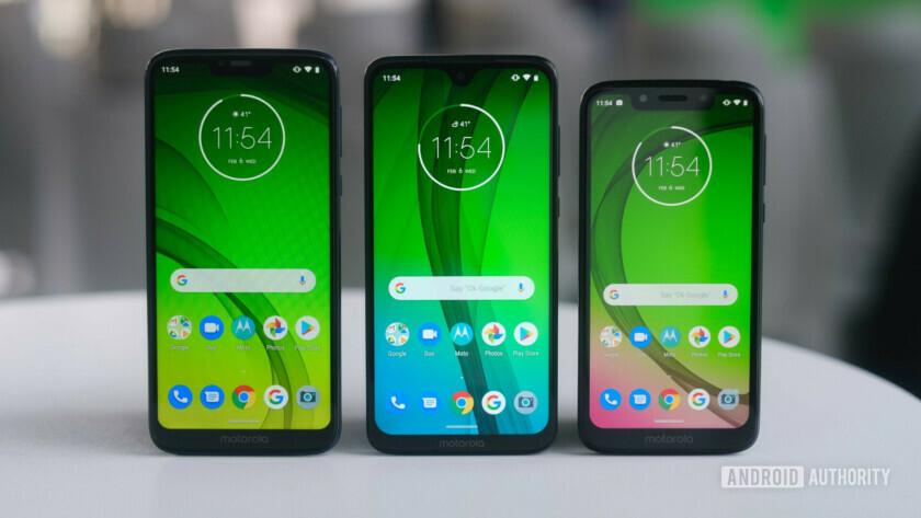 Moto G7 series budget phones