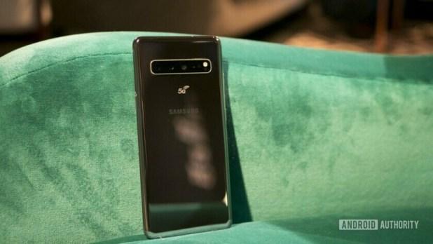 Samsung Galaxy S10 5G Back Standing