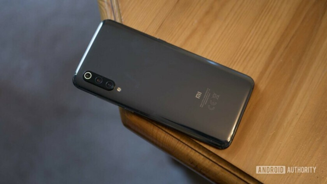 The back of the Xiaomi Mi 9.
