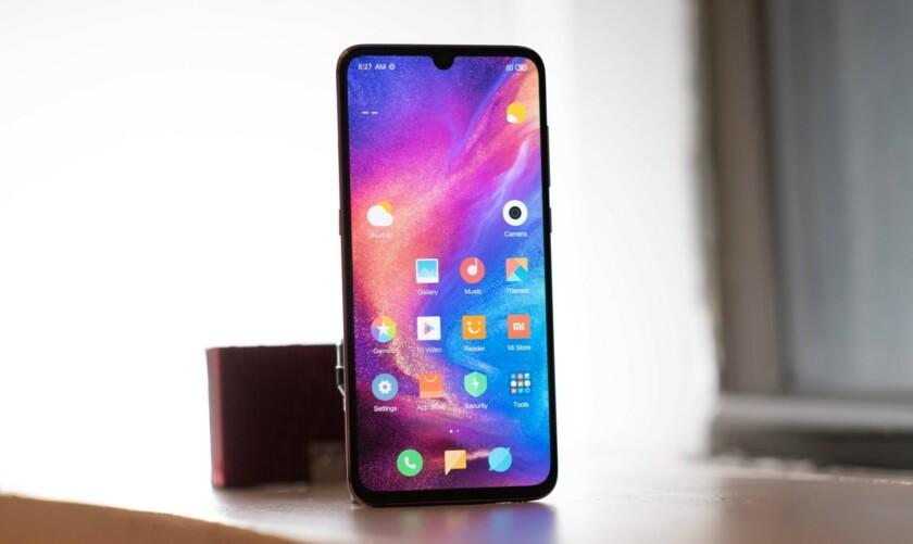 Xiaomi Mi 9 screen