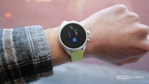 fossil sport smartwatch google fit