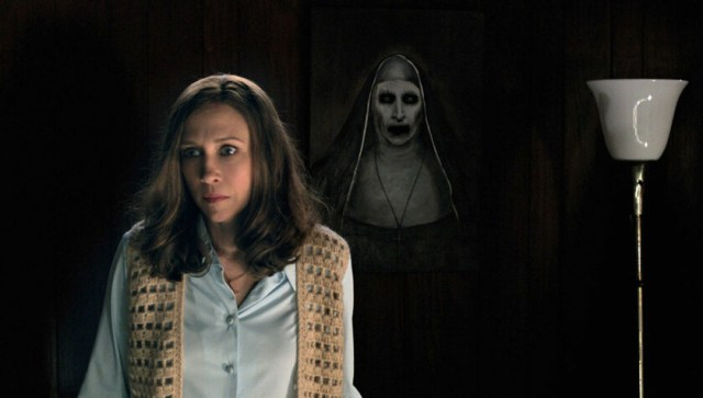 the conjuring the nun - best scary movies on netflix
