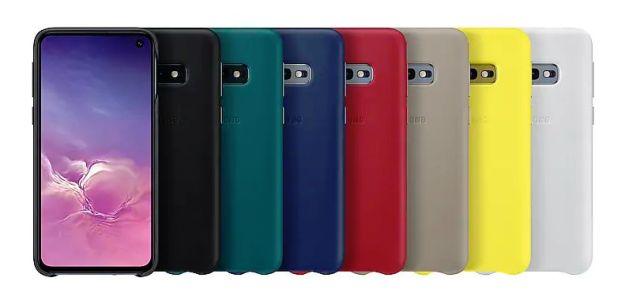 Leather Samsung Galaxy S10e cases