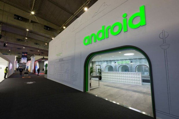 Android Plaza exterior MWC 2019