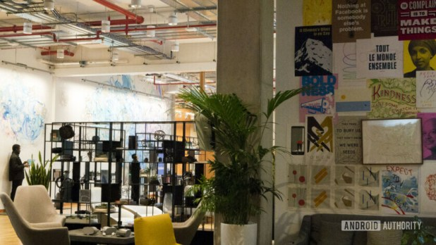 Facebook Office London Decor