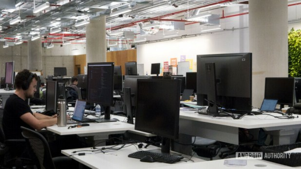Facebook Office London Programmer Developer Working