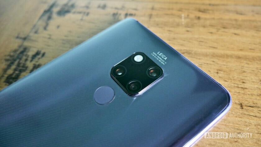 Huawei Mate 20 X camera