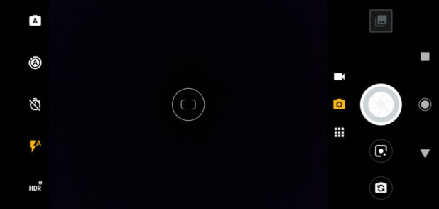 Moto G7 camera UI screenshot