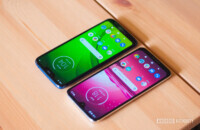 Moto G7 and G7 Power displays
