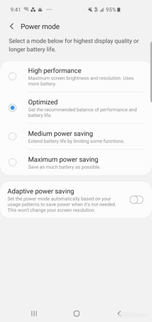 Samsung Galaxy S10 Device care 2