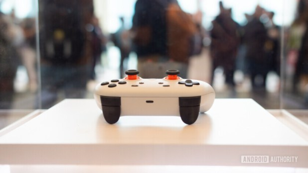 Google Stadia Controller shoulder buttons