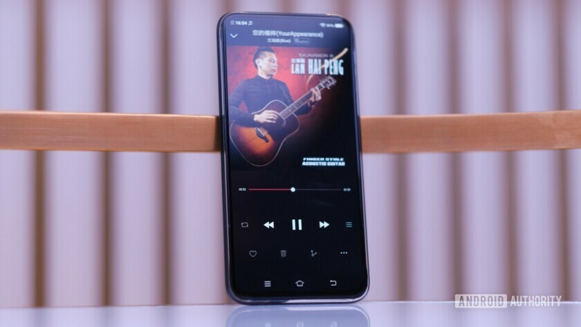 Vivo APEX 2019 music from display