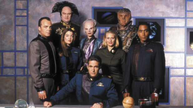 The cast of Babylon 5 - Amazon Prime best shows