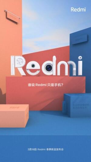 A teaser image for Xiaomi's Redmi range.