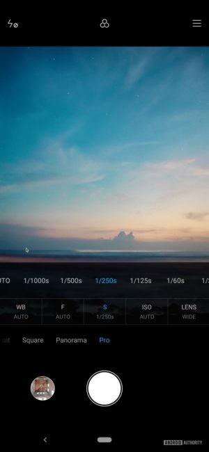 Black Shark 2 Review camera pro mode