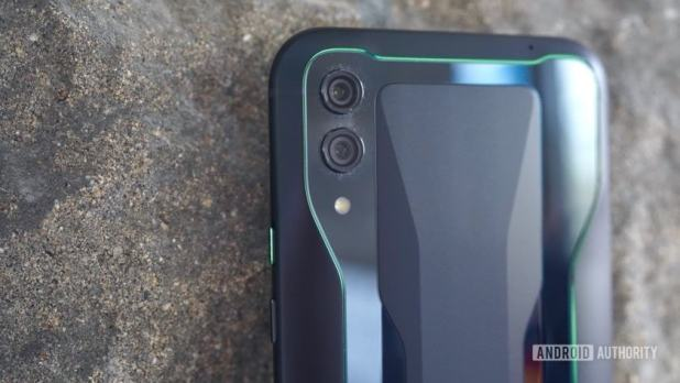 Black Shark 2 Review green accents
