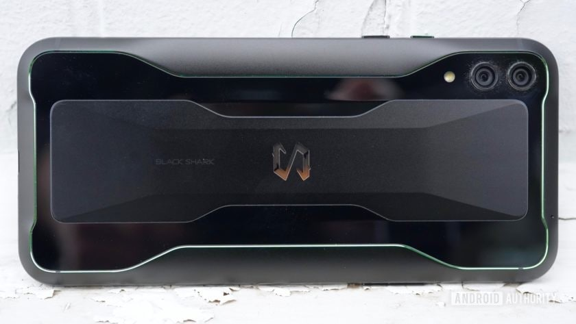 Black Shark 2 Review laying on its edge