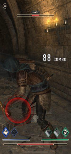 Elder Scrolls Blades tips and tricks combat bandit
