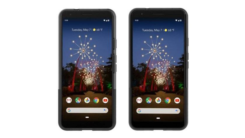 Présumés rendus officiels des Google Pixel 3 a et Google Pixel 3a XL.