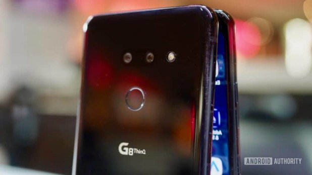LG G8 ThinQ Review camera module