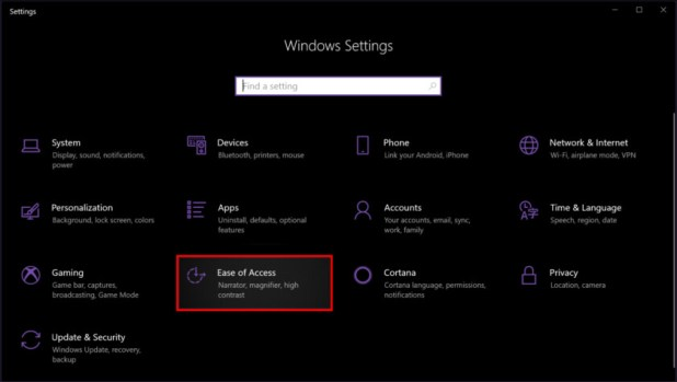 Windows 10 Ease of access - How to use notifications in Windows 10