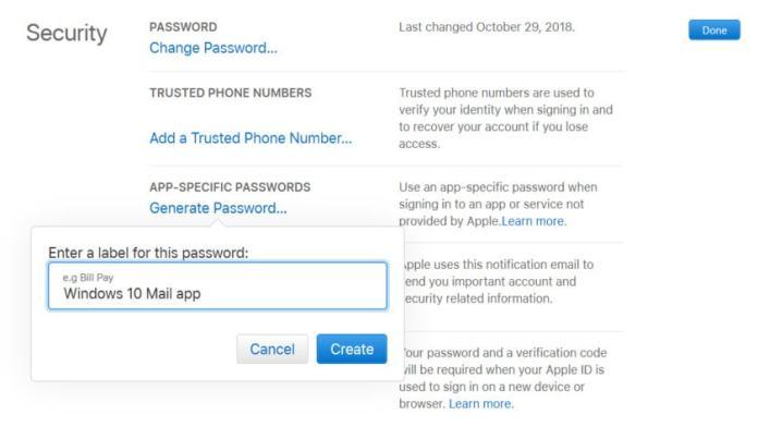 Windows 10 Mail Add iCloud Part 2