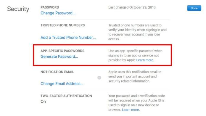 Windows 10 Mail Add iCloud