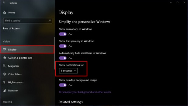 Windows 10 Notification time - How to use notifications in Windows 10