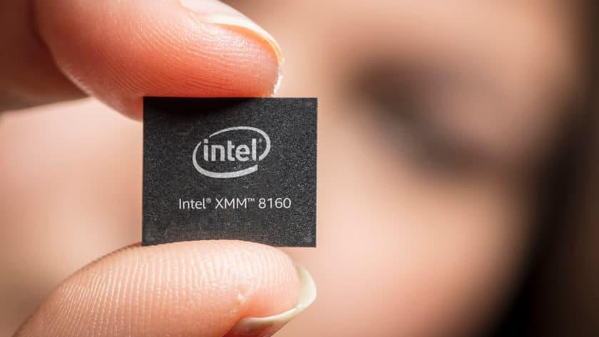 An Intel 5G modem.