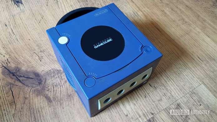 The Nintendo GameCube, part of Nintendo history.
