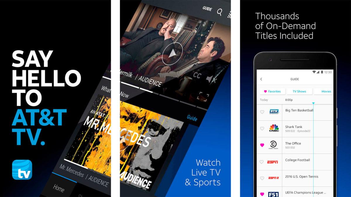ATT TV - одно из лучших приложений для прямого эфира