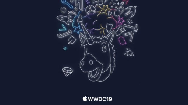 The invitation sent out to members of the press for the 2019 Apple WWDC event.
