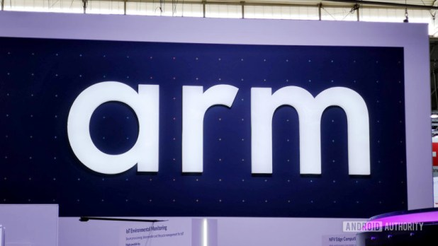 Arm booth logo MWC 2019