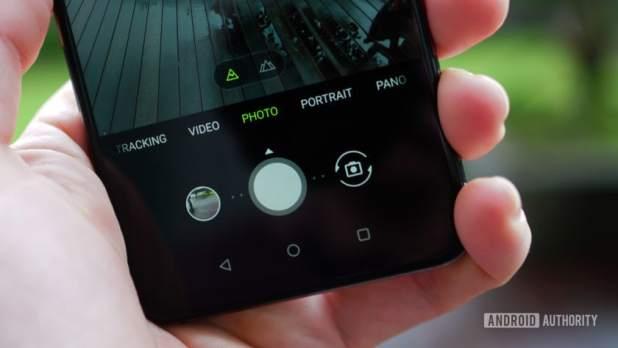 Asus Zenfone 6 camera app UI detail