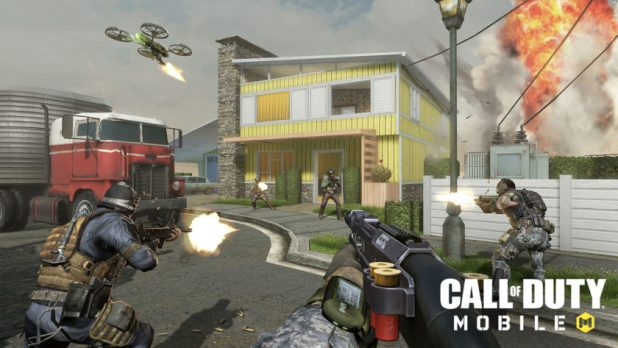 Nuketown in Call of Duty: Mobile.