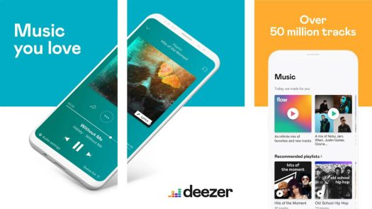 Deezer screenshot 2019 best free music apps