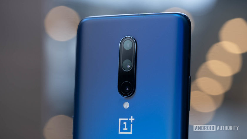 OnePlus 7 Pro cameras at angle 2