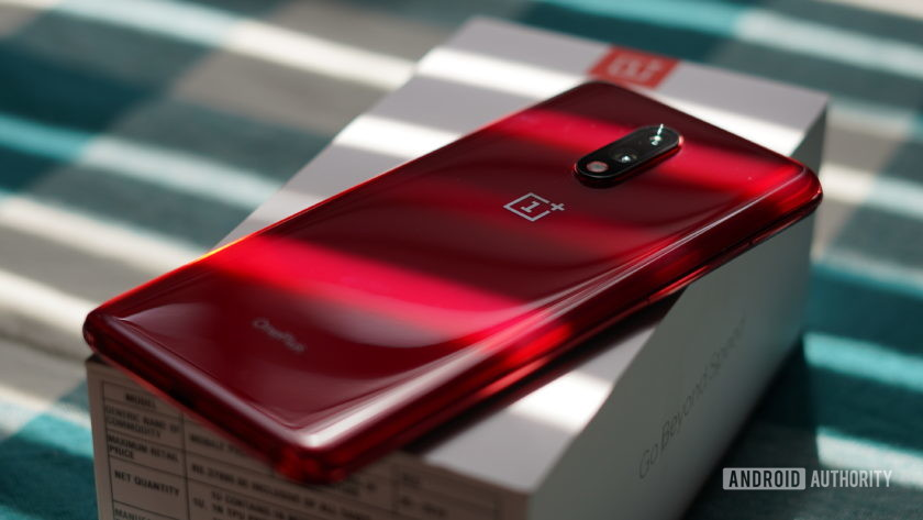OnePlus 7 red color back