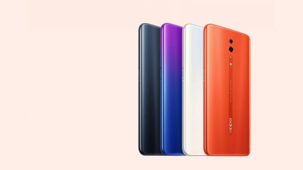 Official render of the Oppo Reno Z