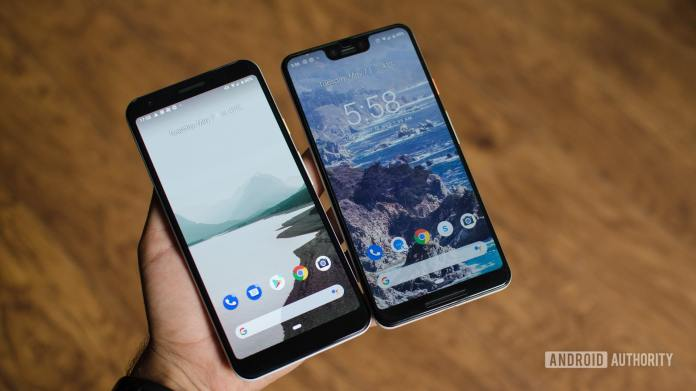 Google Pixel 3a Xl Vs Pixel 3 Xl Notch A Lot Of Differences But Just Enough Android Authority