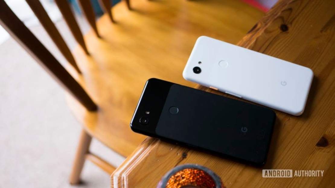 Pixel 3 and Pixel 3a XL on Table - best phones under £500