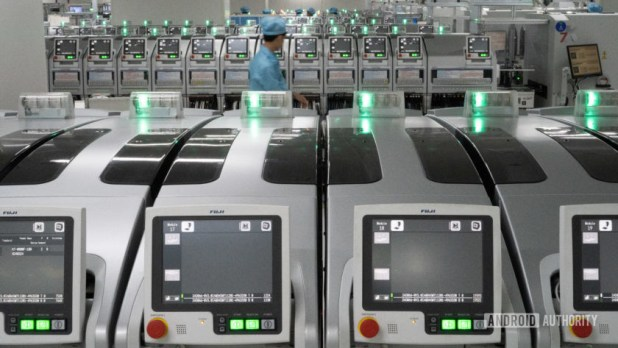 Realme Factory and Imaging Lab PCB manufacturing