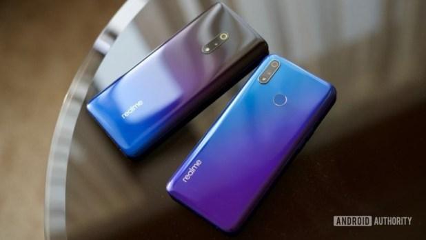 Realme X vs Realme X Lite -back of the phone