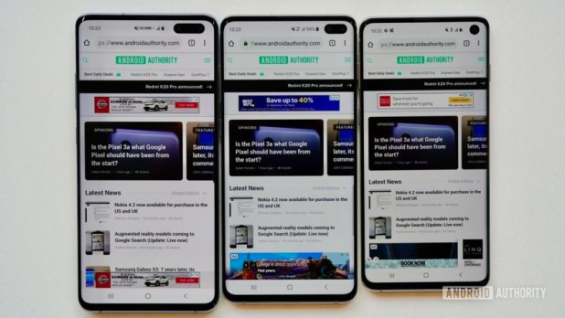 Samsung Galaxy S10 5G Verizon Wireless S10 family