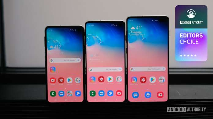 Samsung Galaxy S10e, S10, S10 Plus