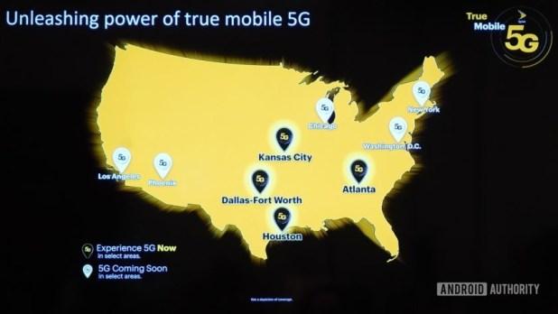 Sprint 5G Launch markets