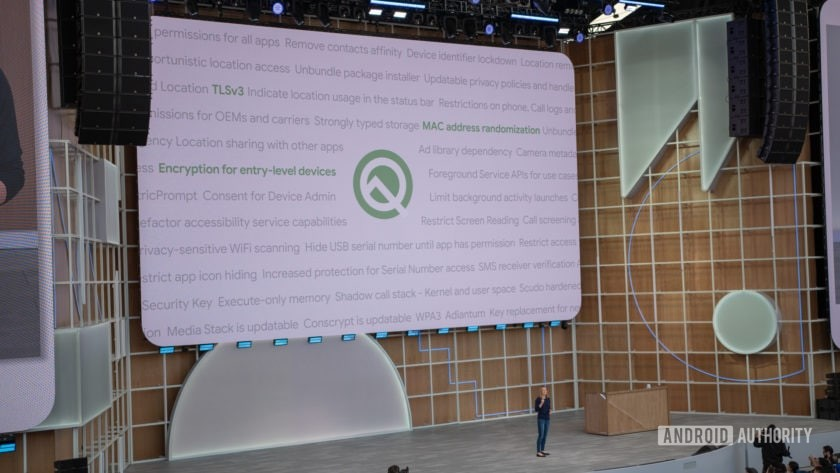 Google I / O 2019 Android Q functions